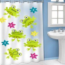 Vinyl 3D Frog Shower Curtain