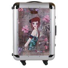 "Nicole Lee 21"" Rolling Aluminum Case Carry-on Suitcase"