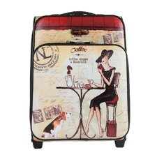 "Coffee 21"" Suitcase"