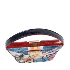 London Girl Print Shoulder Bag