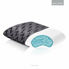 Shredded Cooling Gel Memory Foam Travel Pillow
