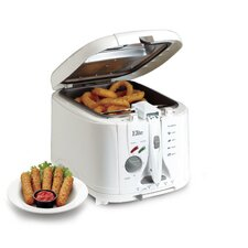 Cuisine 4.73 Liter Cool Touch Deep Fryer with Timer