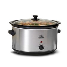 Platinum 8.5 Qt. Stainless Steel Slow Cooker