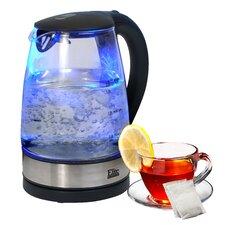 Platinum 1.8-qt. Cordless Glass Electric Tea Kettle