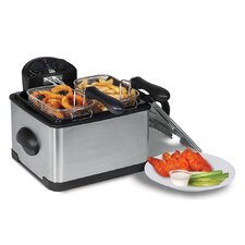 3.8 Liter Dual Basket Deep Fryer