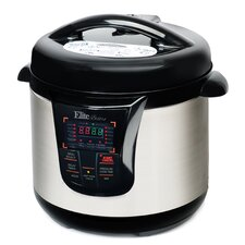 Bistro 8 Qt. Electric Stainless Steel Pressure Cooker