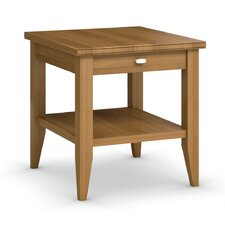 Bowery End Table with Drawer