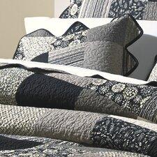 Paris Patch Cotton Throw Pillow