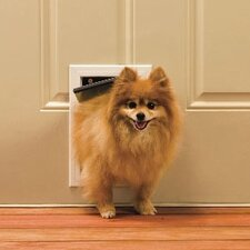 "5-1/8"" x 7-5/8"" Small Aluminum Freedom Dog Door"