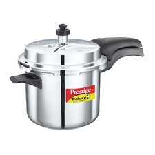 Deluxe 3.7-Quart Stainless Steel Pressure Cooker