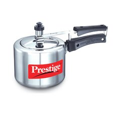Nakshatra Plus 2.11-Quart Flat Base Aluminum Pressure Cooker