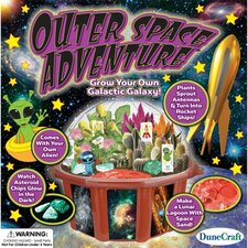 Outer Space Adventure Round Pot Planter