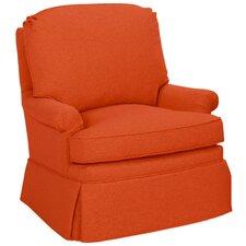 Luca Swivel Glider Arm Chair