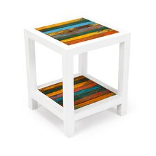 Second Wind Reclaimed Wood Side Table