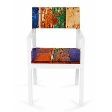 Neptune Reclaimed Wood Arm Chair