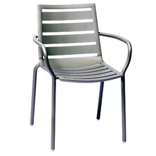 South Beach Stacking Dining Arm Chair