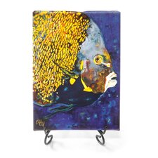 "Ocean ""Yellow Angel"" Giclee Print on Gallery Wrapped Canvas"