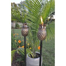Pineapple Tiki Torch (Set of 2)