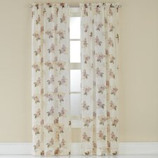 Waterlilly Scroll Curtain Panel