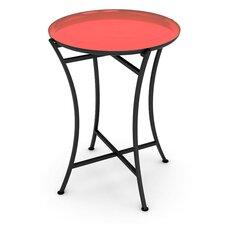 Enamel Tray Bistro Table