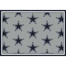 NFL Team Repeat Dallas Cowboys Football Rug