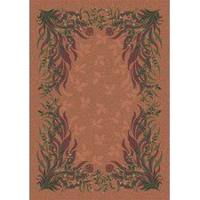 Pastiche Baskerville Sorrel Brown Area Rug