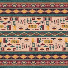 Pastiche Wide Ruins Hazy Forest Beige Area Rug