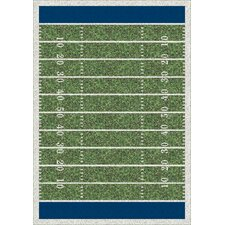 My Team Sport Friday Nights Novelty Area Rug