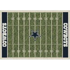 NFL Team Home Field Dallas Cowboys Novelty Rug