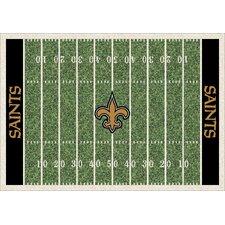 NFL Team Home Field New Orleans Saints Novelty Rug