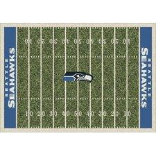 NFL Homefield Seattle Seahawks Football Rug