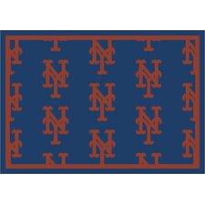 MLB Team Repeat New York Mets Baseball Rug