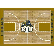 College Court BYU Cougars Rug