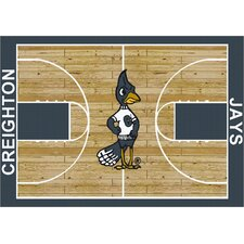 NCAA Court Creighton Novelty Rug