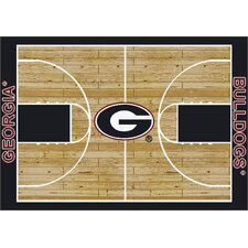 College Court Georgia Bulldogs Rug