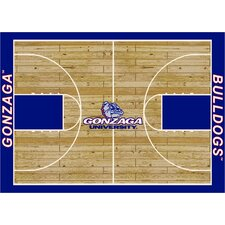 College Court Gonzaga Bulldogs Rug