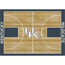 College Court Kentucky Wildcats Rug