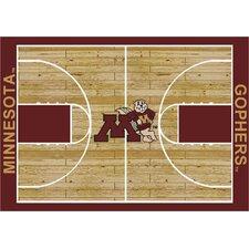 College Court Minnesota Gophers Rug