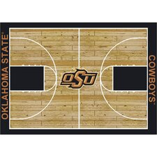 College Court NCAA Oklahoma State Novelty Rug