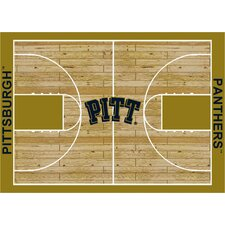 NCAA Court Pittsburgh Novelty Rug