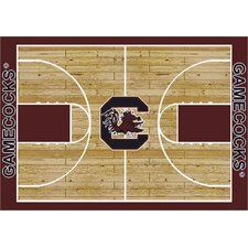 NCAA Court South Carolina Novelty Rug