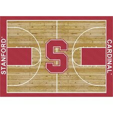 College Court Stanford Cardinal Rug