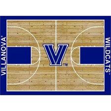 College Court Villanova Wildcats Rug