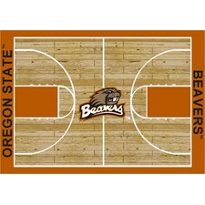College Court NCAA Oregon State Novelty Rug