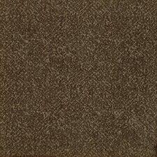 "Legato Fuse Texture 19.7"" x 19.7"" Carpet Tile in Java Brown"