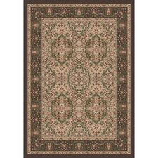 Pastiche Kashmiran Samarra Dark Brown Area Rug
