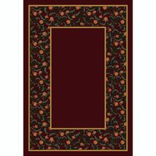 Design Center Garnet Latin Rose Area Rug