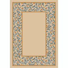 Design Center Opal Lapis Latin Rose Area Rug