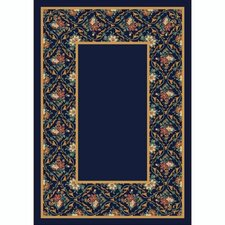Design Center Bouquet Lace Onyx Area Rug