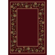Design Center Cranberry Khorrasan Area Rug
